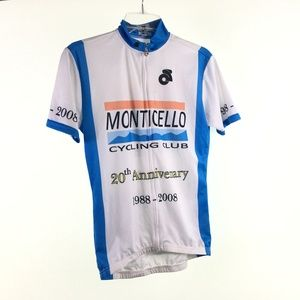 Champs White Cycling Jersey D9117157